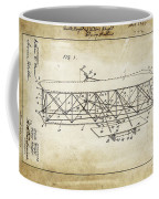 Wright Brothers Flying Machine Patent 1903 Coffee Mug