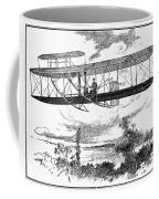 Wright Brothers Plane Coffee Mug
