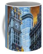 Wrigley Building And Trump Tower Dsc0540 Coffee Mug