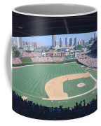 Wrigley Field, Chicago, Cubs V Coffee Mug