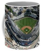 Wrigley Field In Chicago Aerial Photo Coffee Mug