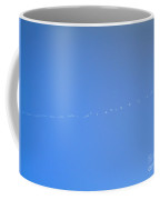 Writing In The Sky Coffee Mug