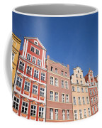 Wroclaw Old Town Houses Coffee Mug