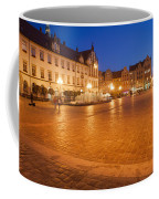 Wroclaw Old Town Market Square At Night Coffee Mug