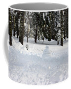 Wrong Way Snowman Coffee Mug
