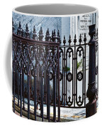 Wrought Iron Cemetery Fence Coffee Mug