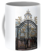 Wrought Iron Gate Coffee Mug