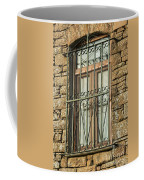 Wrought Iron - Glass - Stone Coffee Mug