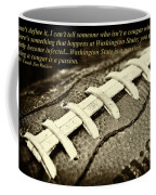 Wsu Cougar Quote Coffee Mug