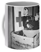 Ww II: Red Cross, C1942-43 Coffee Mug