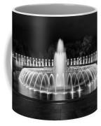 Ww2 Memorial Fountain Coffee Mug