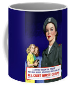 Ww2 Us Cadet Nurse Corps Coffee Mug