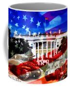 Ww2 Usa White House Coffee Mug