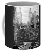Wwi, Ruins Of Arras Cathedral Coffee Mug