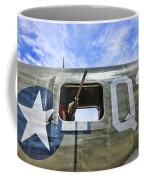 Wwii Aircraft Gun Window Coffee Mug