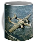 Wwii, Northrop P-61 Black Widow, 1940s Coffee Mug