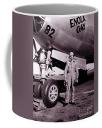 Wwii, Paul Tibbetts, Usaf Officer Coffee Mug