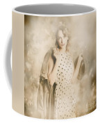 Wwii Tour Of Duty Pin-up Woman Coffee Mug