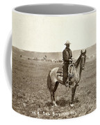 Wyoming: Cowboy, C1883 Coffee Mug