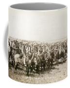 Wyoming: Cowboys, C1883 Coffee Mug