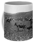 Wyoming: Cowboys, C1890 Coffee Mug