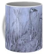 Wyoming Sandhill Cranes Coffee Mug