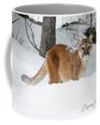 Wyoming Wild Cat Coffee Mug