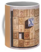 X Blocks Coffee Mug