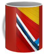 Xochimilco Boat Abstract 1 Coffee Mug