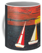 Yacht Racing Coffee Mug