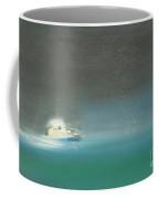 Yacht On The High Seas Coffee Mug