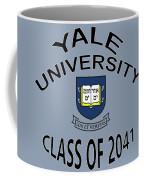 Yale University Class Of 2041 Coffee Mug