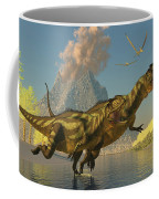 Yangchuanosaurus Dinosaurs Coffee Mug