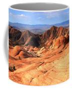 Yant Flat Candy Cliffs Panorama Coffee Mug