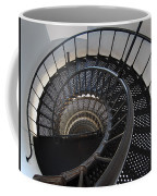 Yaquina Lighthouse Stairway Nautilus - Oregon State Coast Coffee Mug