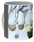 Yarn In The Snow Coffee Mug