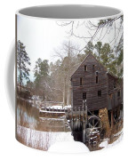 Yates Mill In Winter Coffee Mug