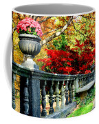 Ye Olde Garden Bench Coffee Mug