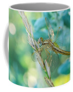 Yellow And Blue Coffee Mug