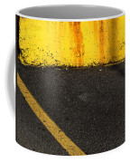 Yellow And Grey Wc  Coffee Mug