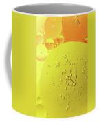 Yellow And Orange Oil Droplet On Water Coffee Mug