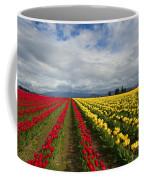 Yellow And Red Coffee Mug