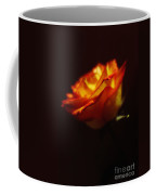 Yellow And Red Rose Coffee Mug