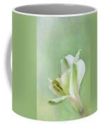 Yellow And White Peruvian Lily Coffee Mug