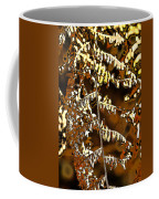 Yellow Autumn Leaves Fern Coffee Mug