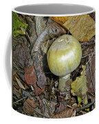 Yellow Autumn Mushroom Coffee Mug