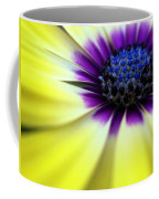 Yellow Beauty With A Hint Of Blue And Purple Coffee Mug