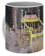 Yellow Bench Coffee Mug