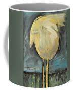 Yellow Bird In Field Coffee Mug