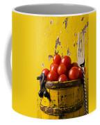 Yellow Bucket With Tomatoes Coffee Mug